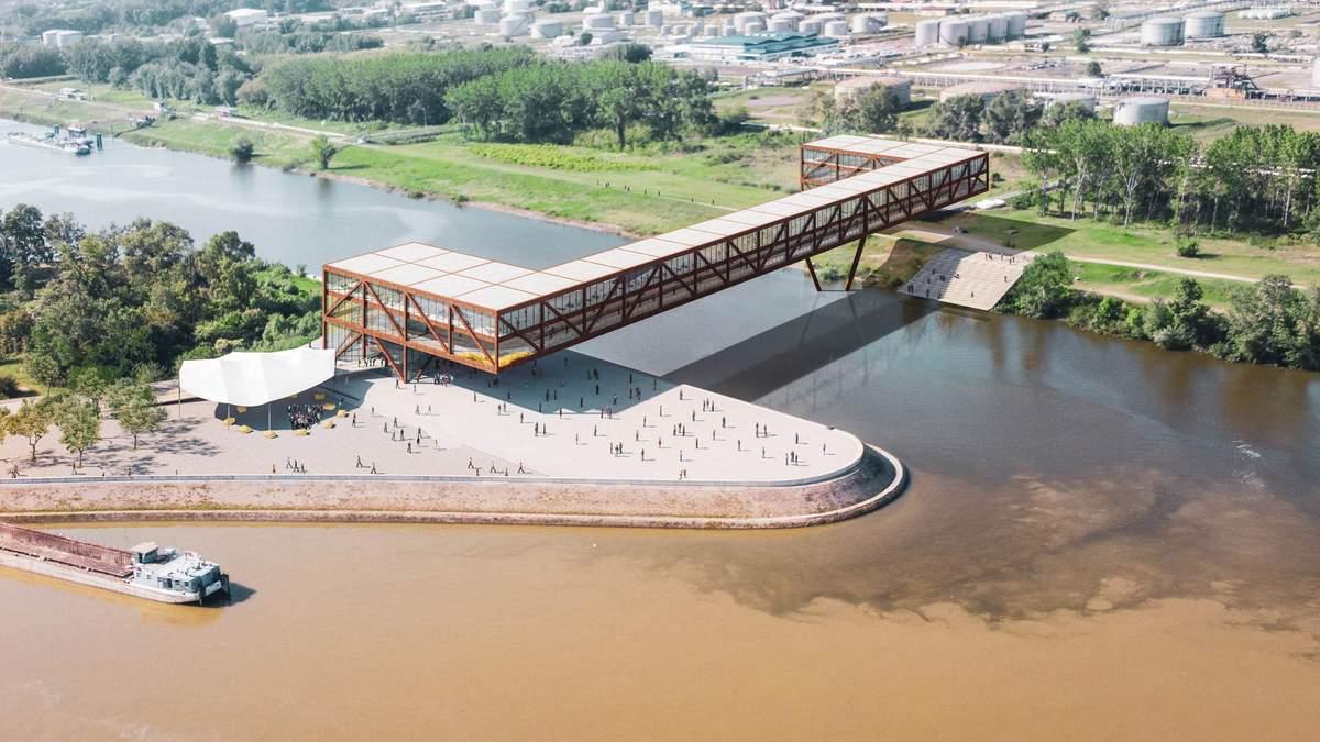 С офисами, отелем и магазинами: многофункциональный мост построят в Сербии