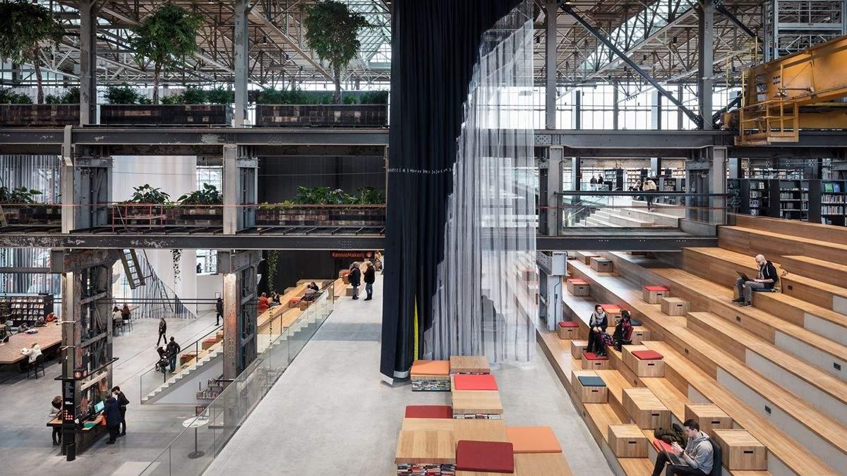 Библиотеку в Нидерландах назвали лучшим зданием 2019 года: в чем ее особенность