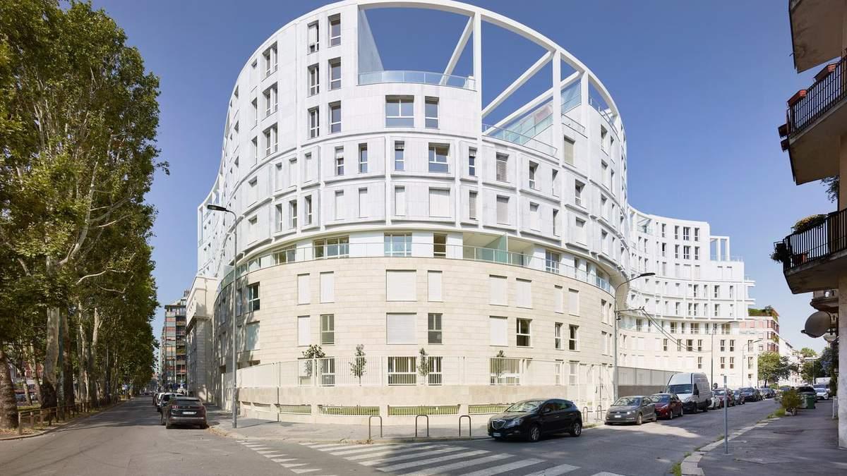 """В Мілані побудують """"зміїний"""" житловий будинок – фото"""