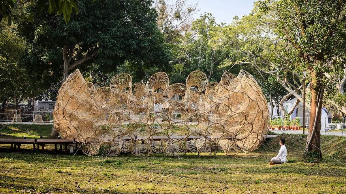 Будинок з риболовних сіток: інсталяція з Тайвані, яка не залишить байдужим – фото
