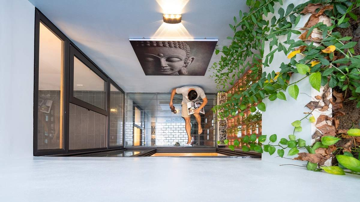 Дом в виде водопада: во Вьетнаме молодая пара построила креативное жилье – фото