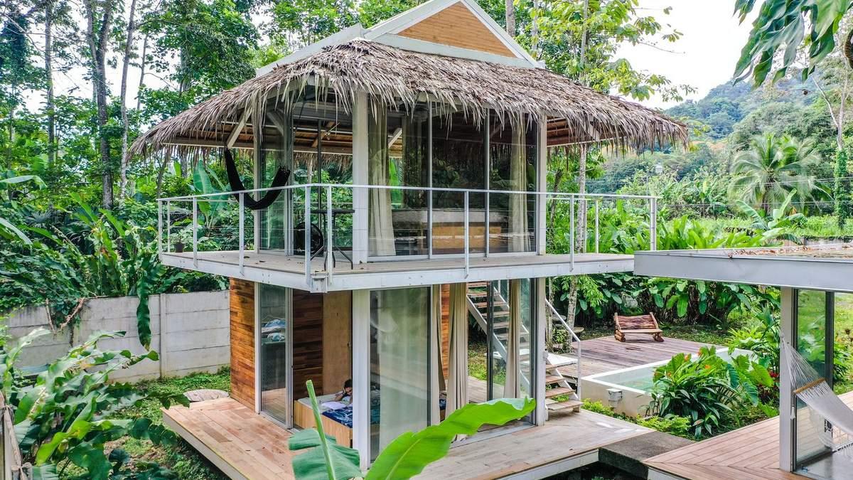 """В тропічному лісі Коста-Ріки з'явився """"повітряний"""" будинок для туристів –  яскраві фото"""
