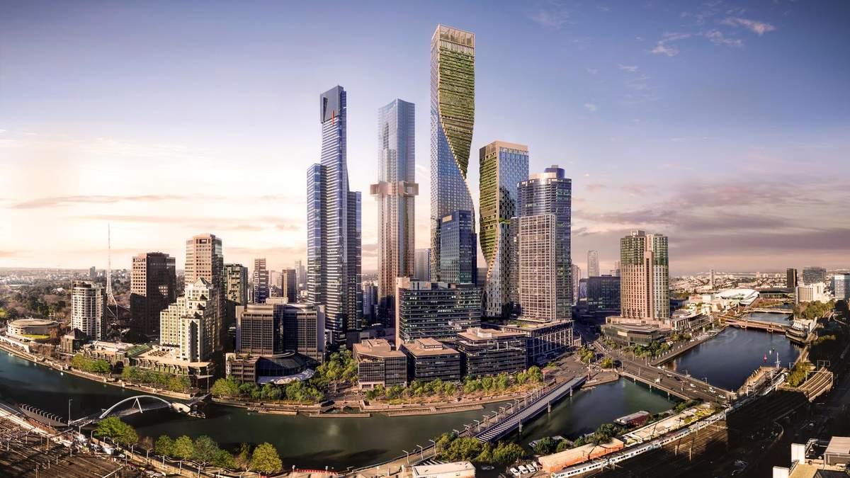 Спираль на берегу океана: как будет выглядеть самое высокое здание Австралии – фото