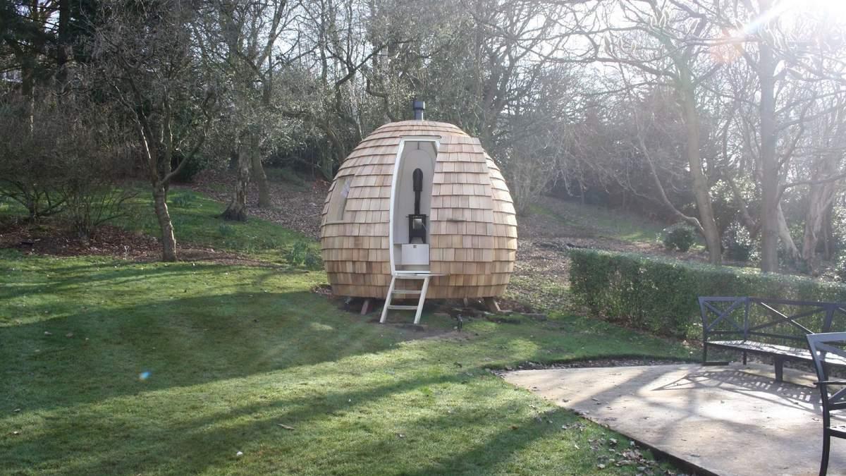 В Великобритании нашли идеальное решение для работы из дома: офис в виде яйца – фото