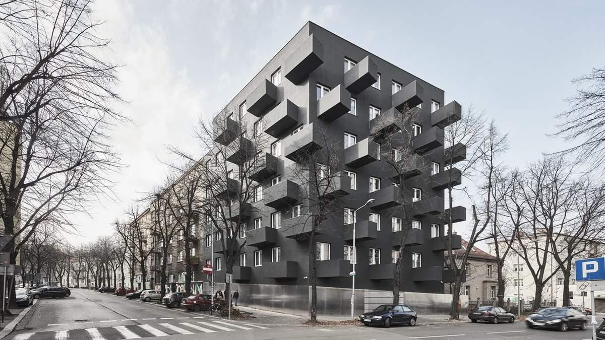 Влияние индустриализма: в Польше построили многоэтажку с маленьким бюджетом – фото