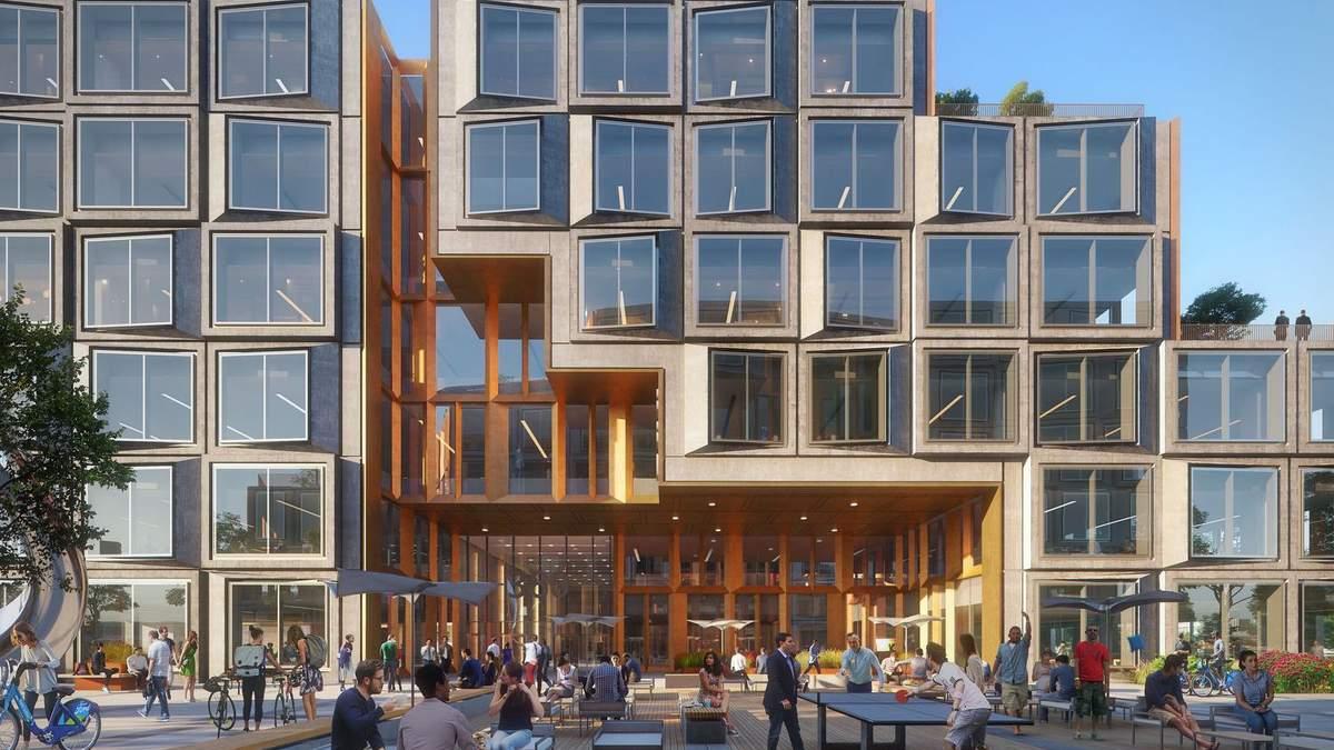 Багатоповерхівка з енергозберігаючим фасадом: приклад з Каліфорнії – фото