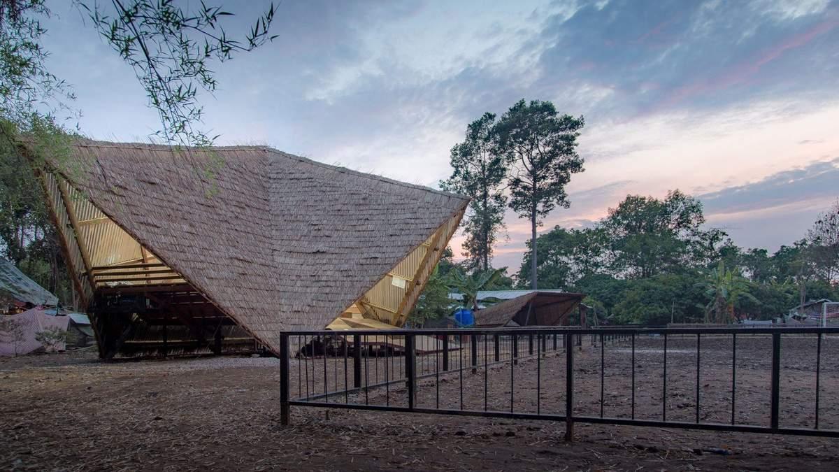Креативний центр на території звалища в Таїланді – фото місця, де навчаються мігранти з Бірми