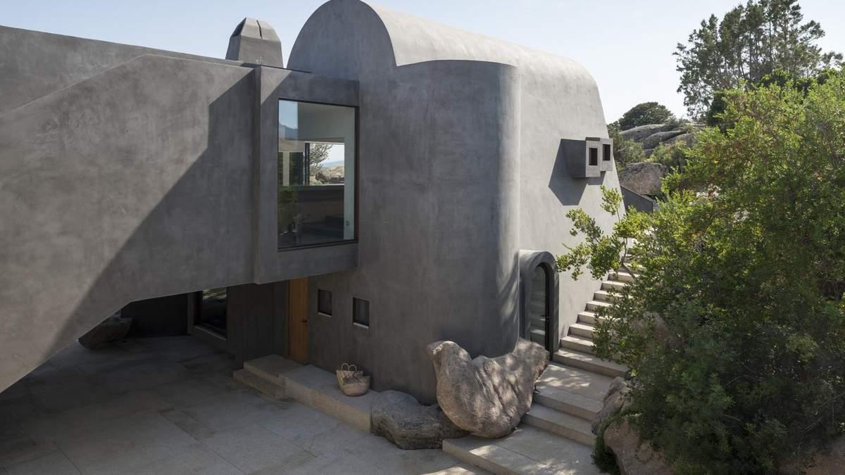 Вілла-печера або як переробити старе житло в сучасне та креативне помешкання – фото
