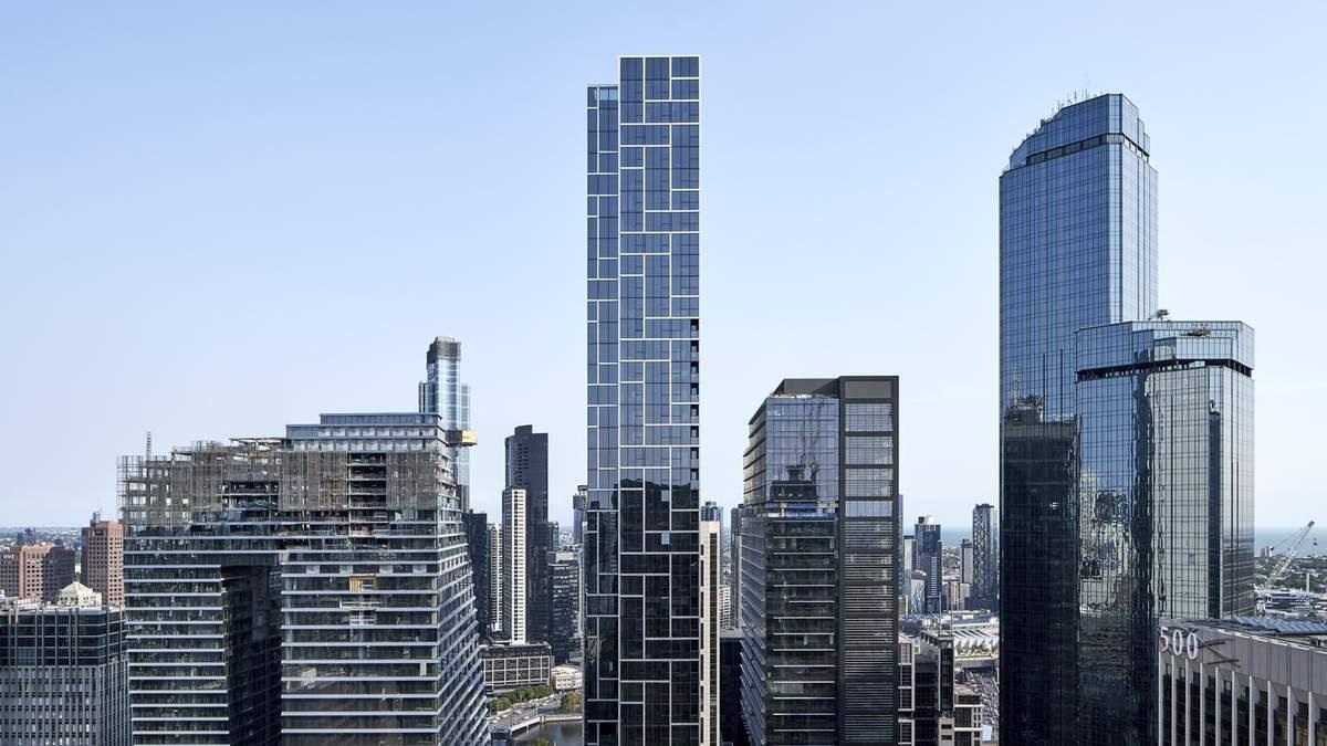 Анти-вандализм: в Австралии возвели современный небоскреб на историческом здании в центре города