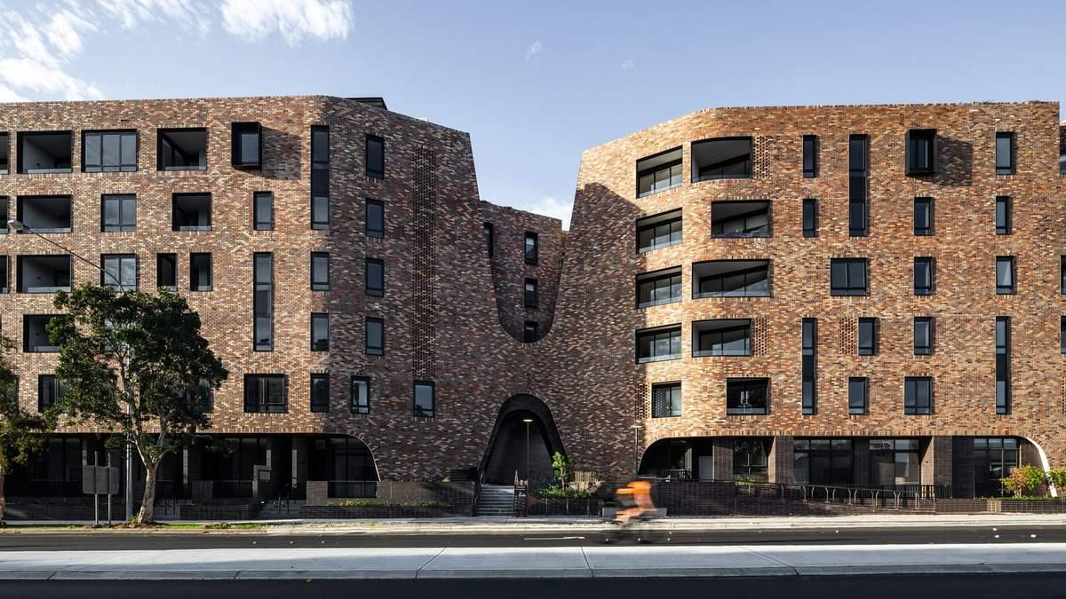 Колониальный стиль и эко стандарты: фото экспериментальной многоэтажки с Австралии