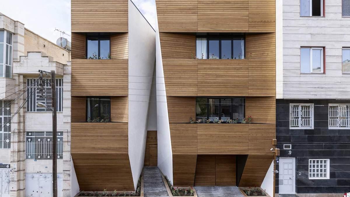 Как разделить большой дом на отдельные квартиры: полезный пример из Ирана