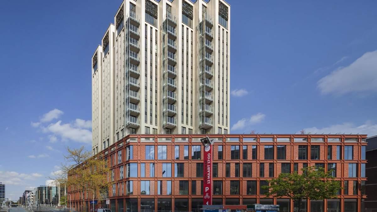Дві вежі та будинок-плінтус: вражаюча архітектура у Нідерландах: фото