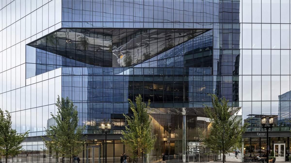 Танцююча будівля: неординарний дизайн офісу у США