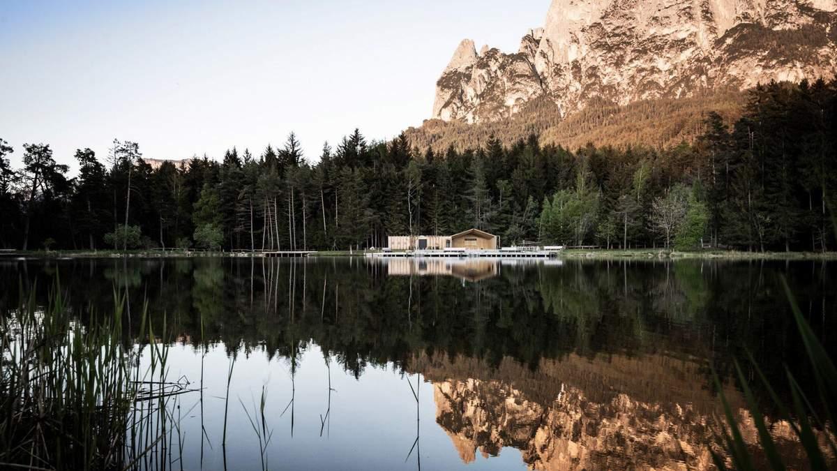 Дерево в дереве: экологическая кофейня посреди невероятной красоты Альп – фото