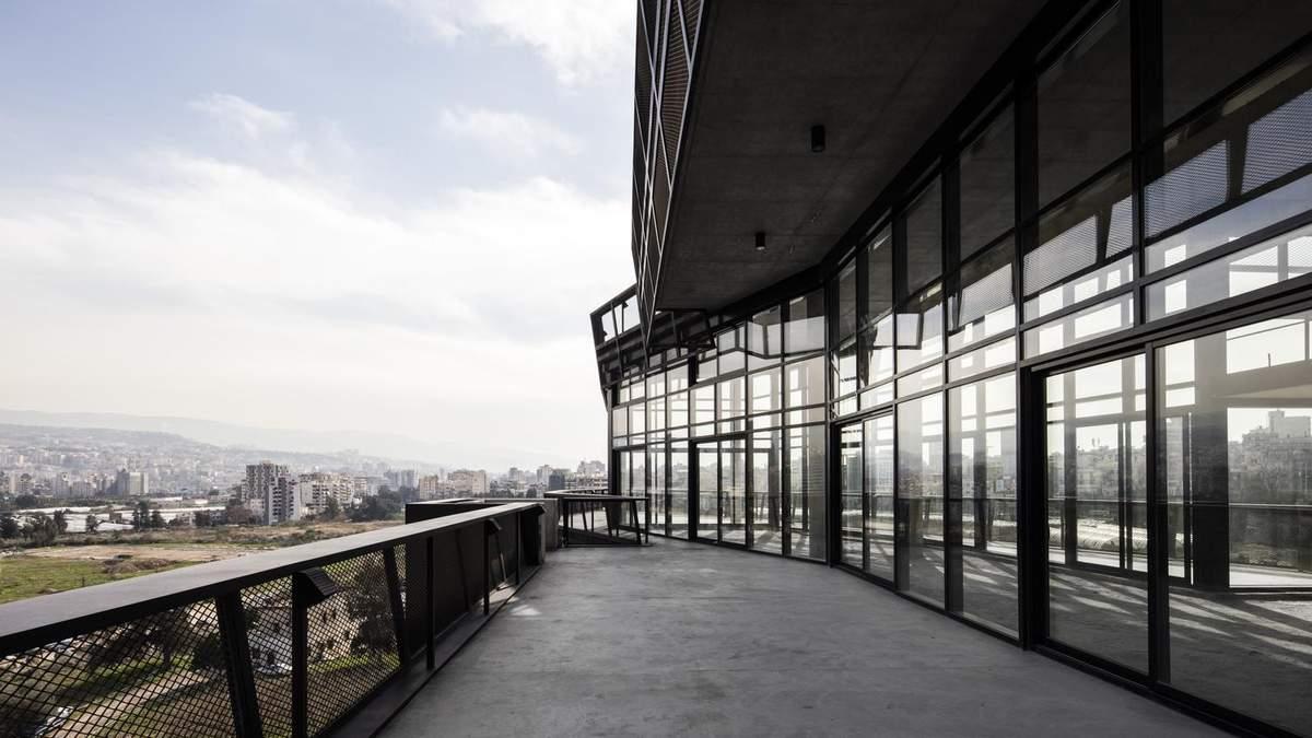 Наче бойовий корабель: концепт футуристичної будівлі у Бейруті – фото