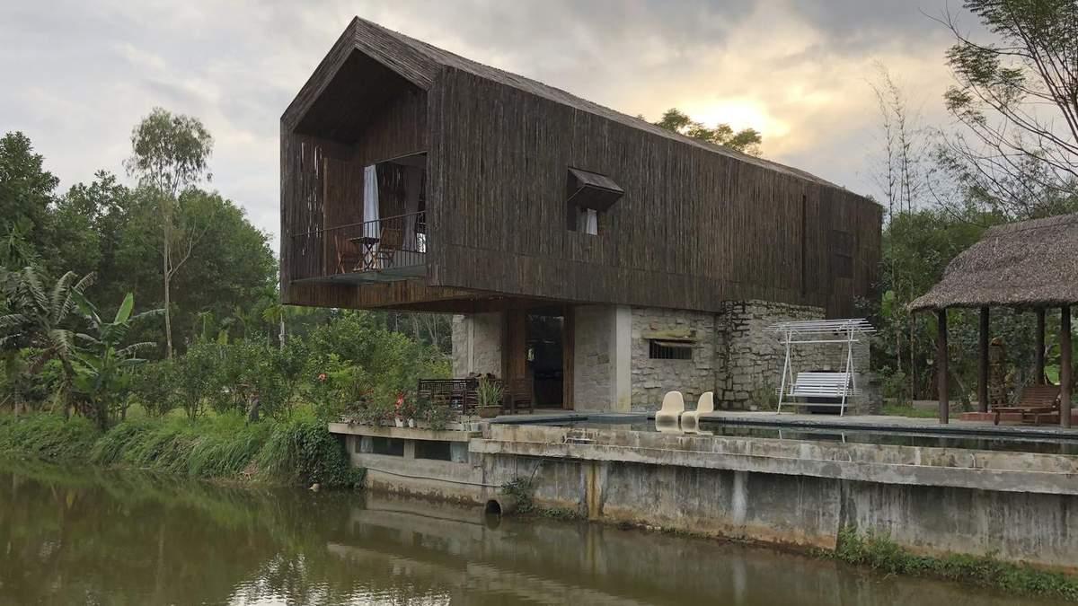 Без металла, стекла и керамики: во Вьетнаме построили уникальный дом – фото