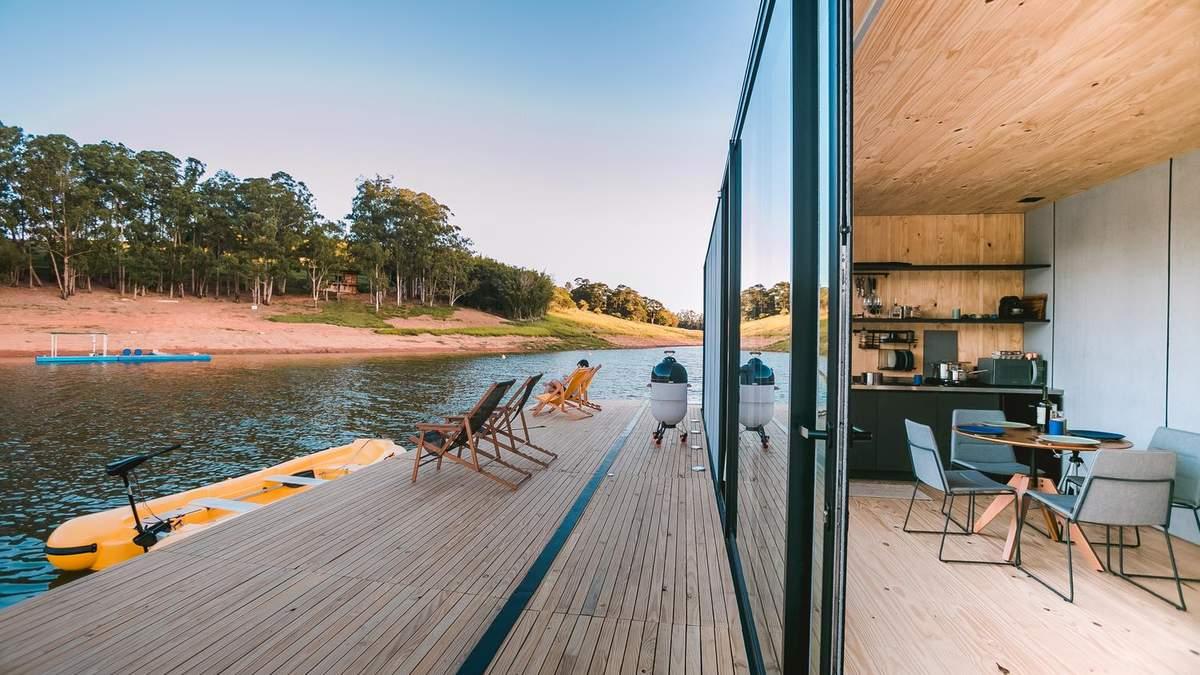 Мобільне житло: в Бразилії розробили будинок, який може триматися на воді – фото