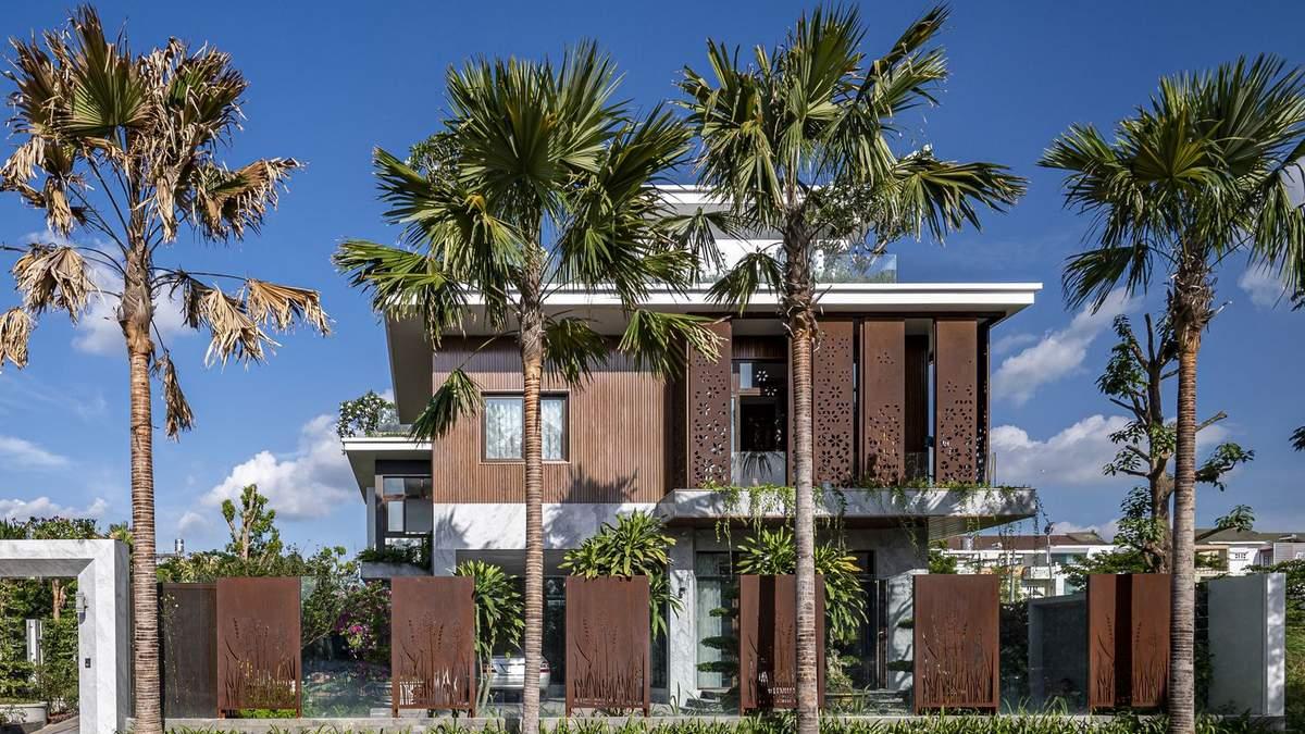 Зелений дах та багато відкритого простору: сучасний приватний будинок з В'єтнаму: фото