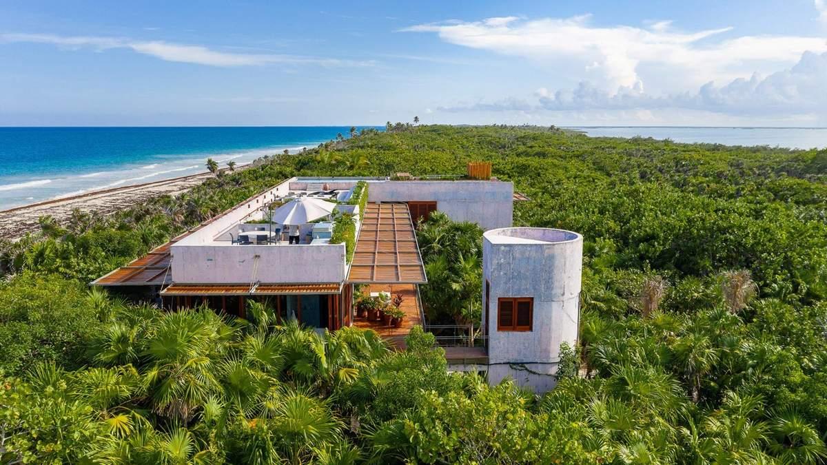 Відкритий будинок: в Мексиці побудували райське помешкання посеред пальм – фото