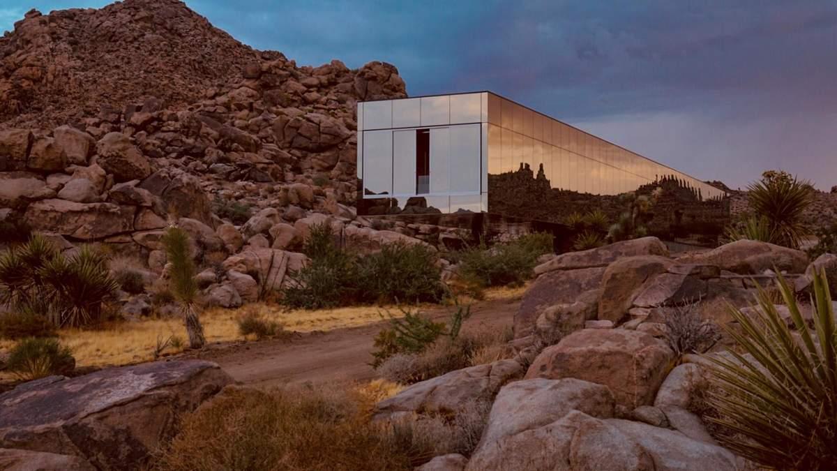 Невидимий будинок посеред пустелі: в Каліфорнії побудували особливий готель – відео