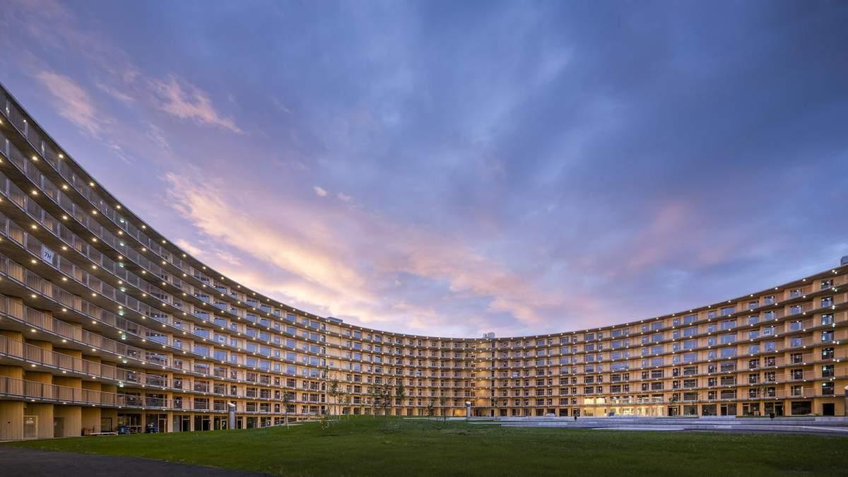 В виде стадиона: в Лозанне строят гигантское круглое общежитие – фото