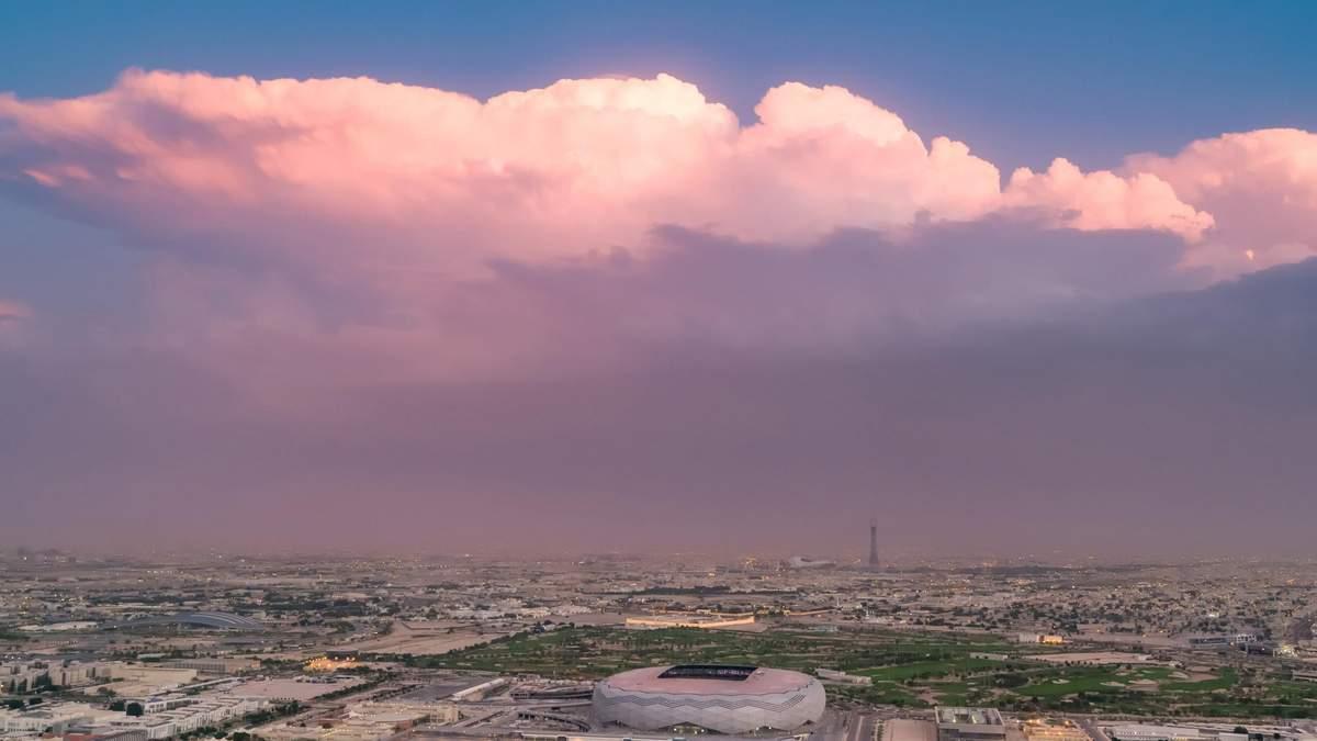 Діамант в пустелі: фантастичний стадіон з Катару до Чемпіонату світу – відео