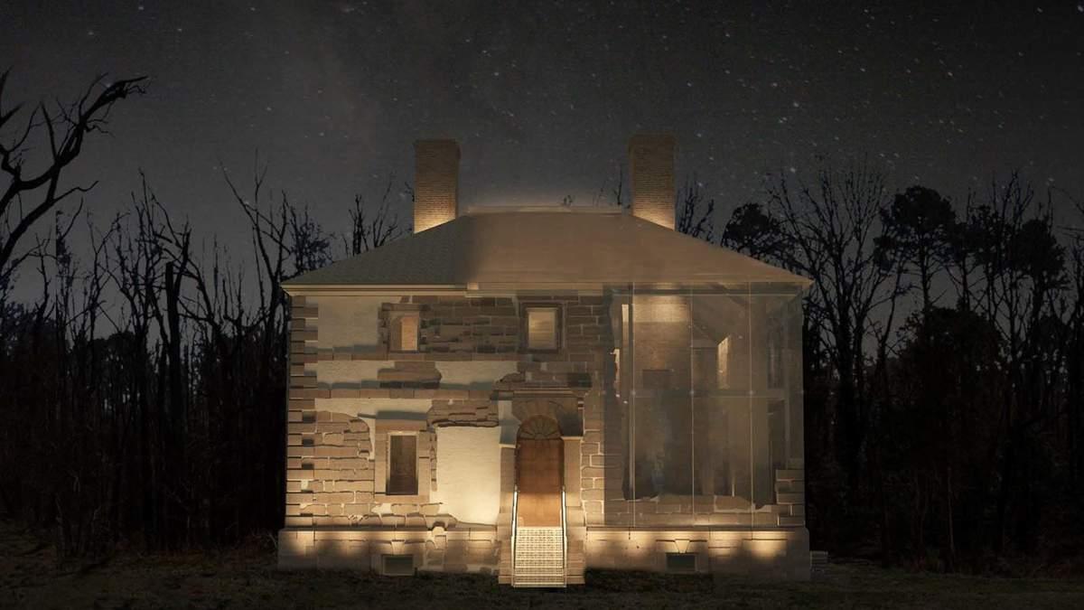 Дом-трансформер: архитекторы из США с помощью стекла защитят исторический дом –  фото