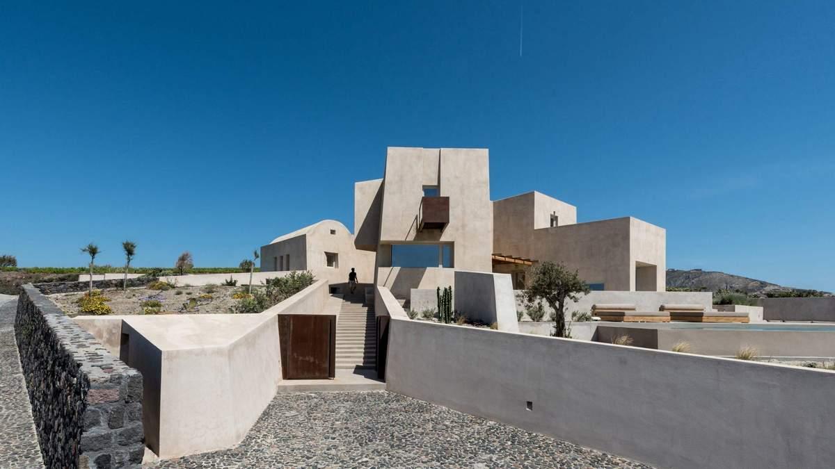 Відпочинок у фортеці: на острові в Греції з'явився неординарний дачний будинок – фото