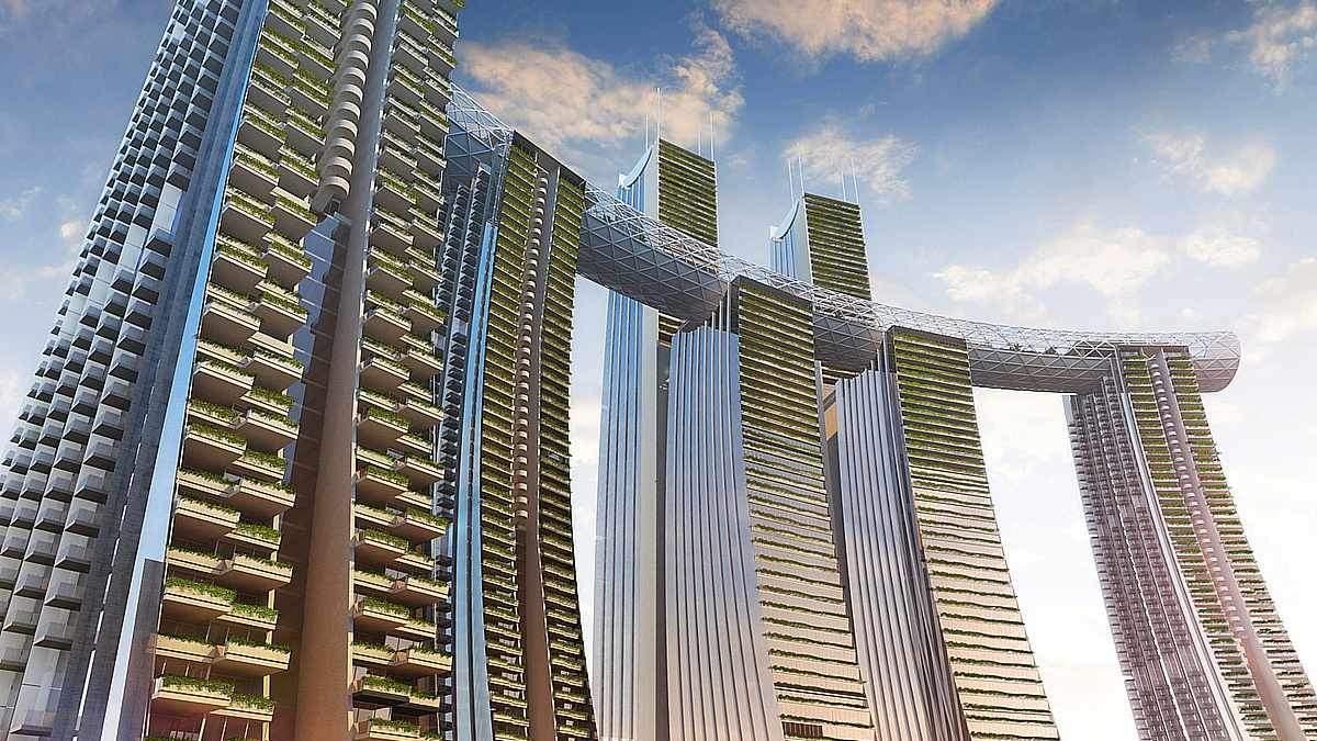 Горизонтальний хмарочос: в Китаї відкриють архітектурне диво – фото