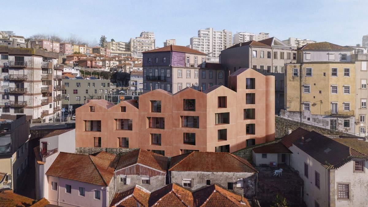 Как будто пластилиновый: проект аутентичного здания из Португалии – фото