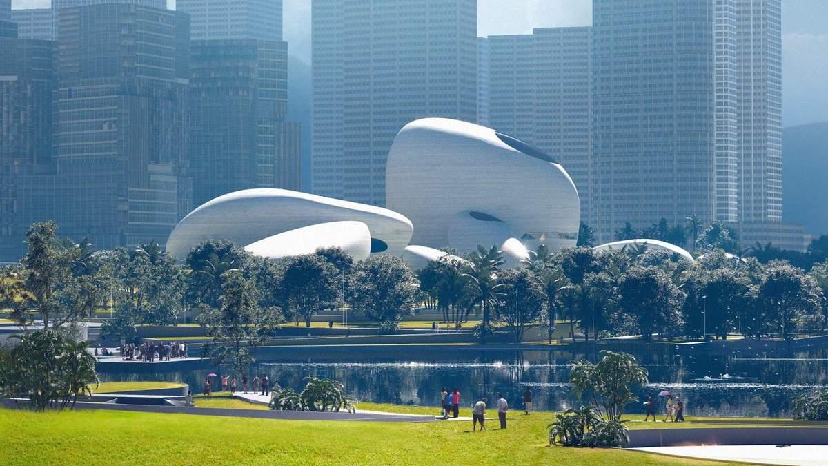 Архитектурное чудо: в Китае строят музейный комплекс, который внешне похож на камни – фото