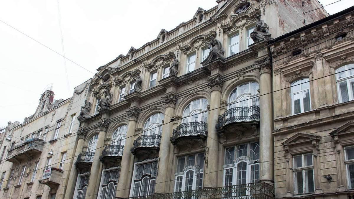 Необароковий палац на Дорошенка, Львів – проект реставрації, фото