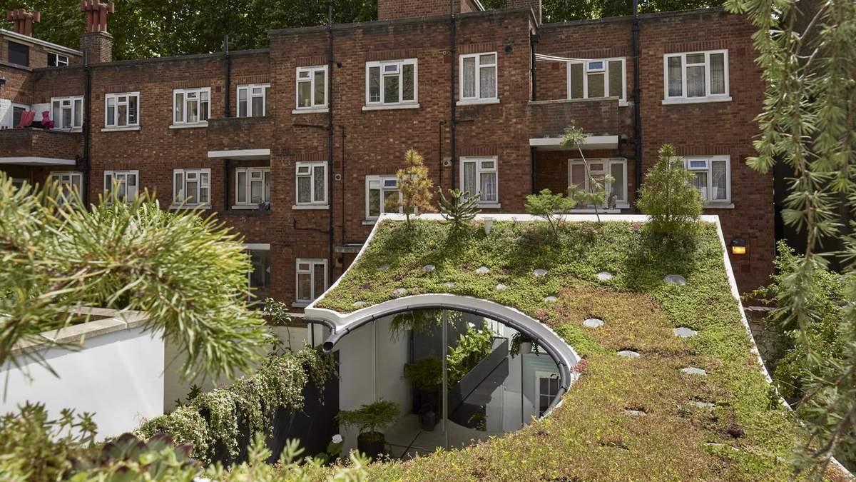 Дах-сад, який збирає дощову воду: в Лондоні побудували екологічне житло – фото
