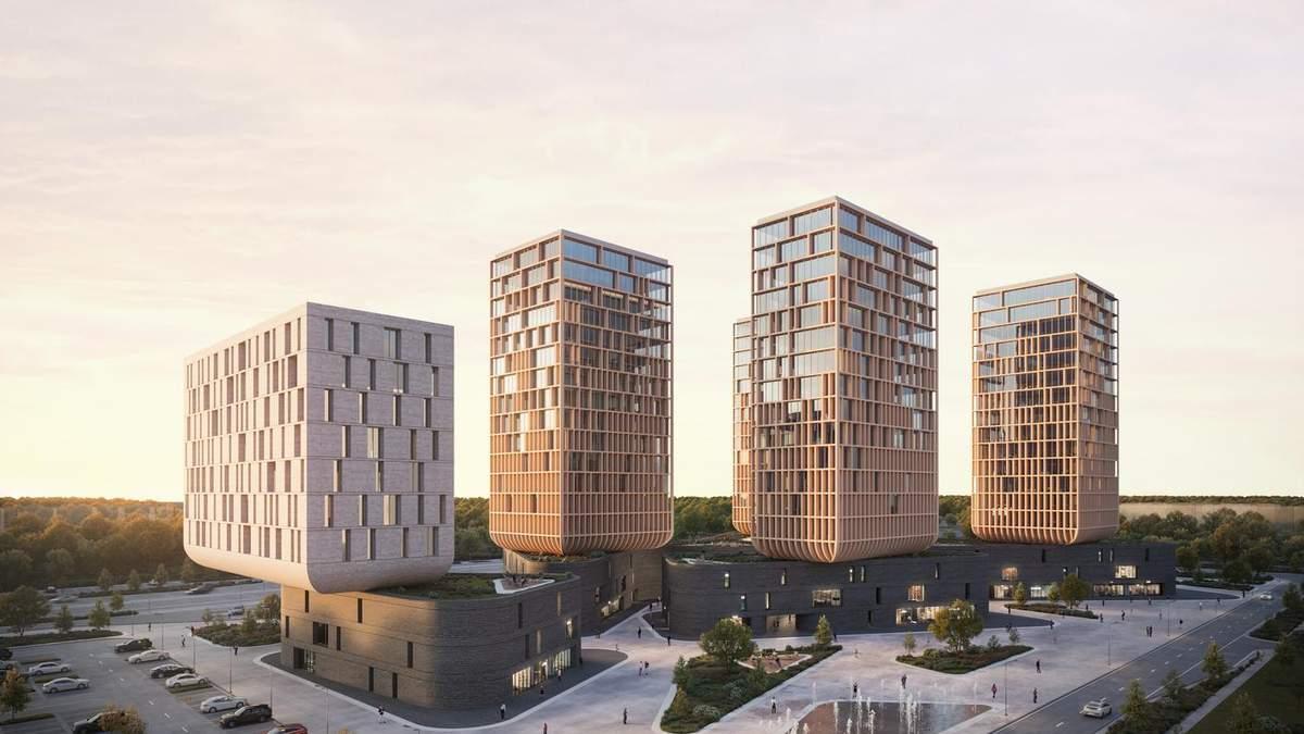 Город тюльпанов: в Казахстане построят современный бизнес-центр – невероятные фото