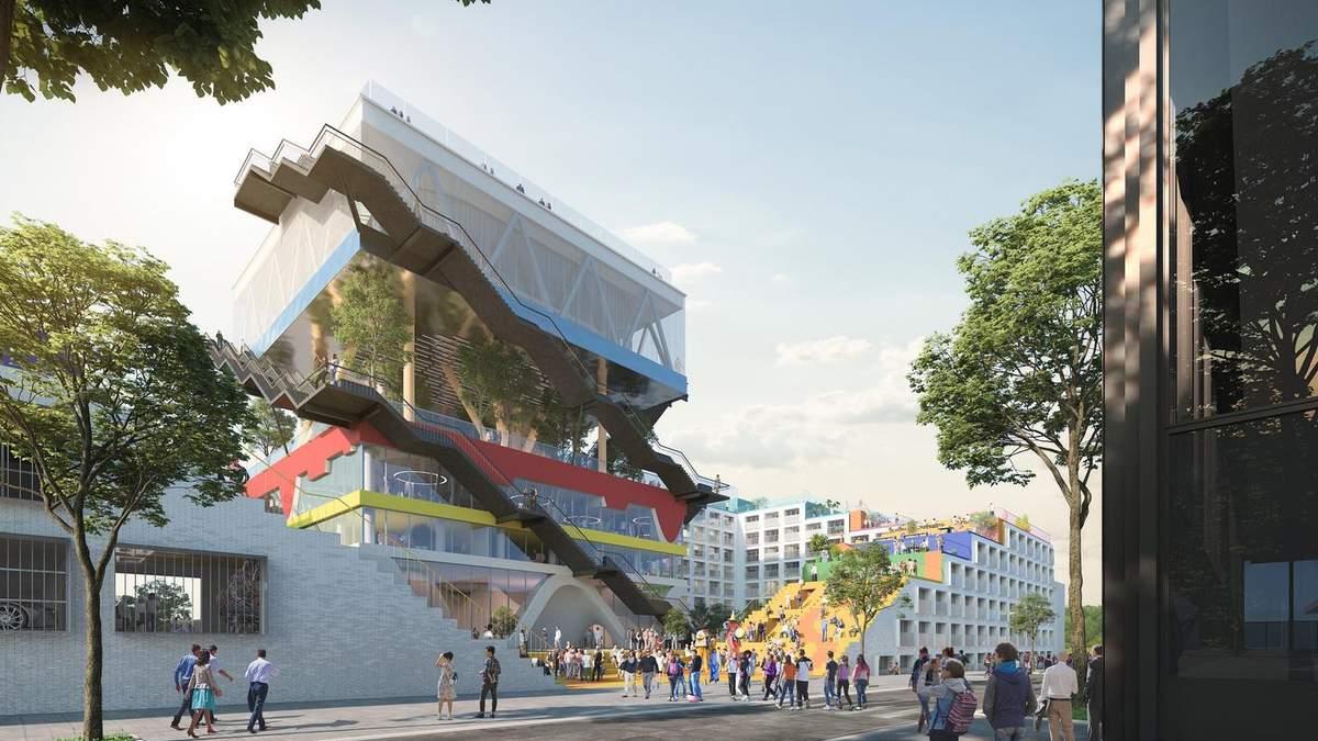 Окрема екосистема: в Німеччині з'явиться офісна будівля з 6 різними ландшафтами – фото