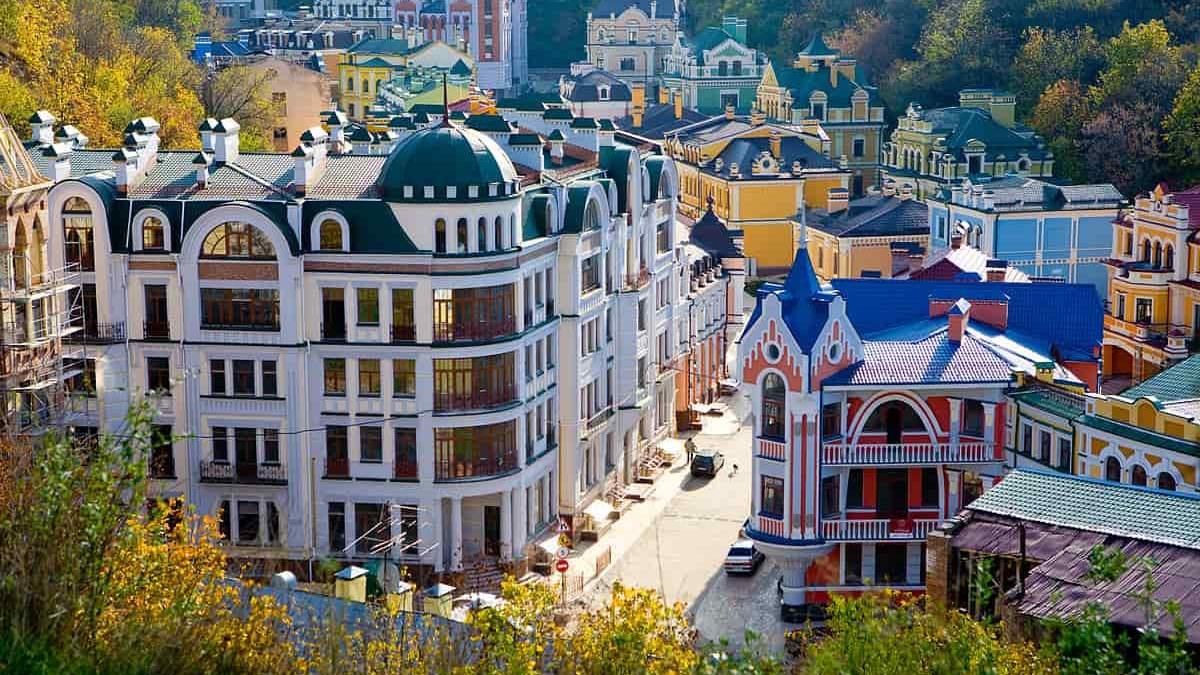 Подол является одним из самых популярных районов Киева