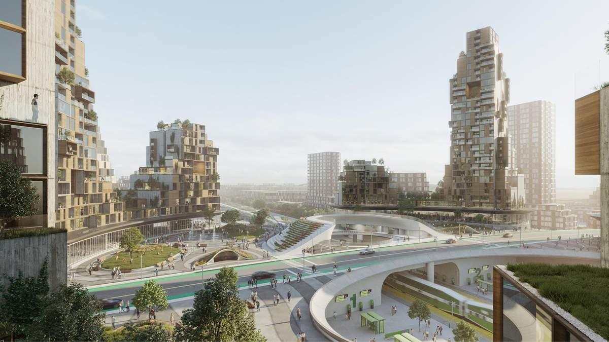 """В Канаде построят """"город будущего"""" с вокзалом в центре: концепция и фото"""