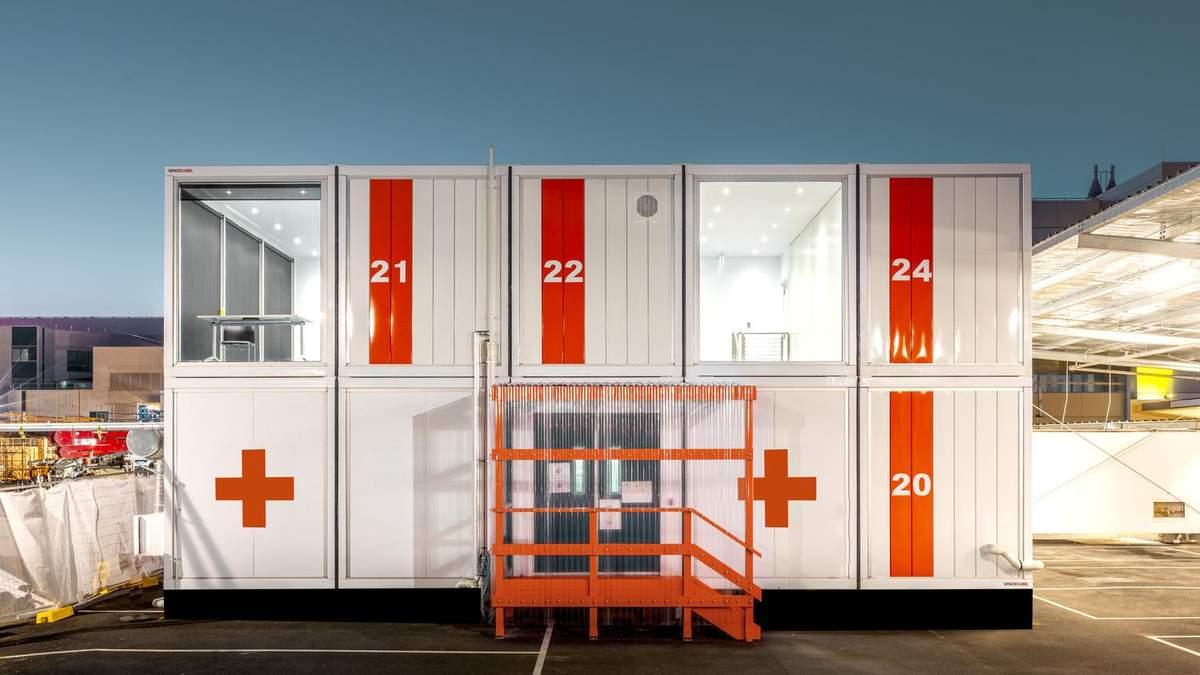 Больница из контейнеров: в Австралии презентовали разработку, которую можно собрать за 15 часов