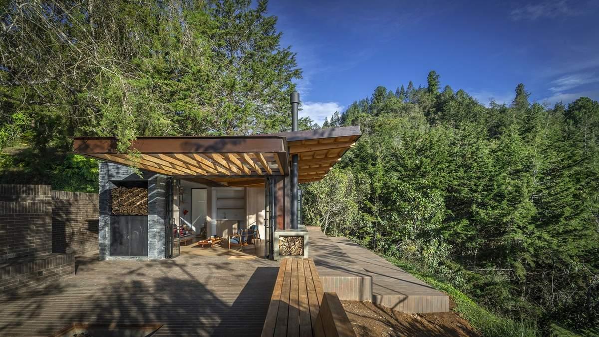 С костром на террасе: в Колумбии построили уютный горный домик – фото