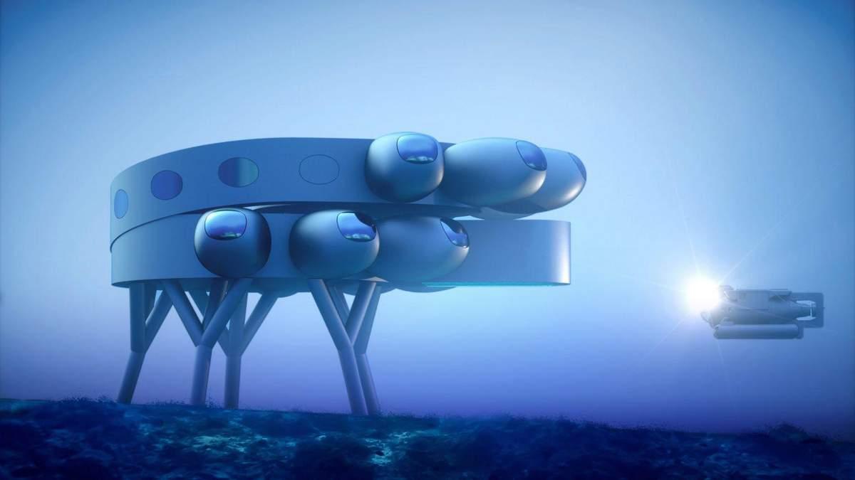 Жизнь под водой: в Швейцарии разработали огромную подводную станцию – фото