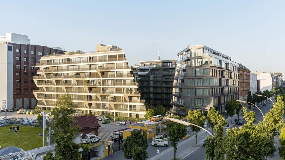 Символ свободи: на місці Берлінської стіни з'явився символічний житловий комплекс – фото