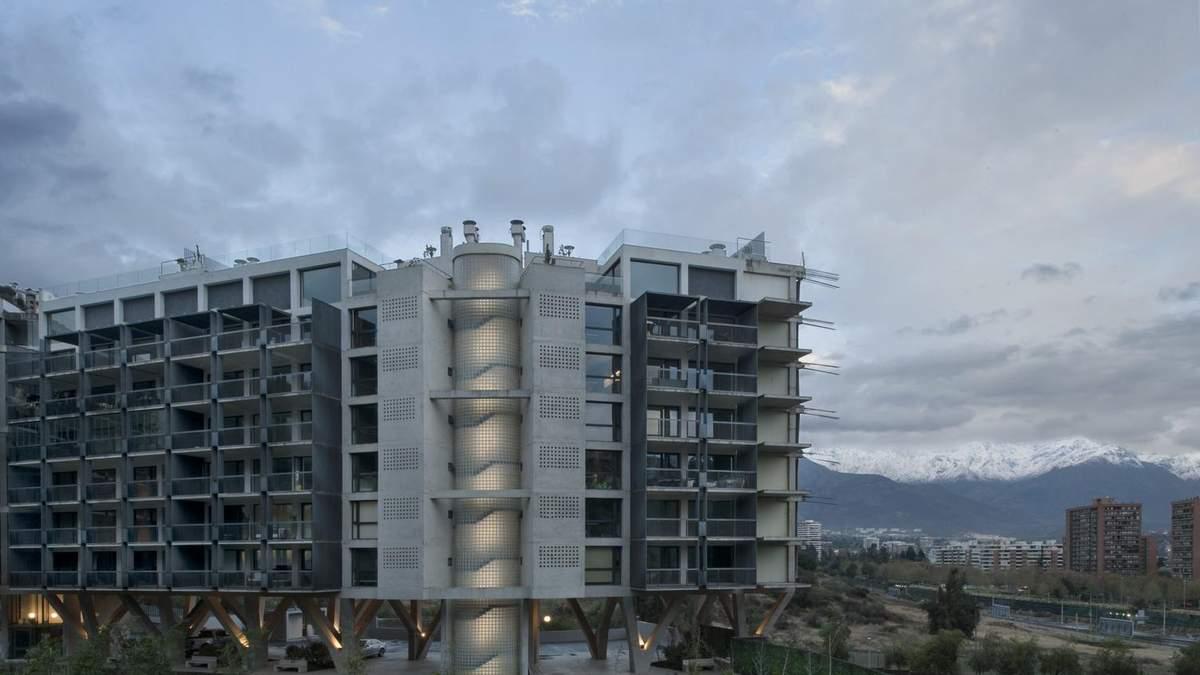 Мов у мурашнику: в Чилі побудують величезний житловий комплекс на 28 будинків – фото