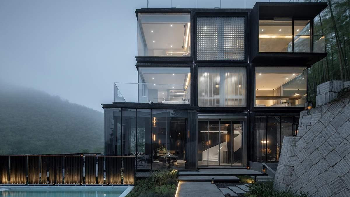 В Китае построили отель в форме Кубика Рубика – фото