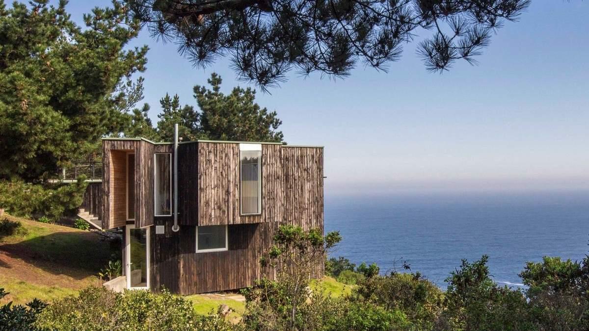 Горы и океан: уютный домик подальше от цивилизации в Чили – потрясающие фото