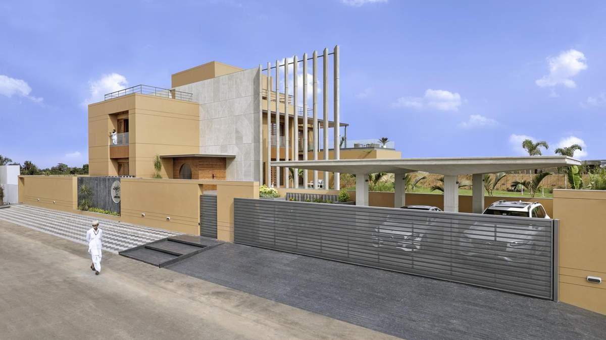 Приватность превыше всего – стильный дизайн и интерьер дома в Индии: фото