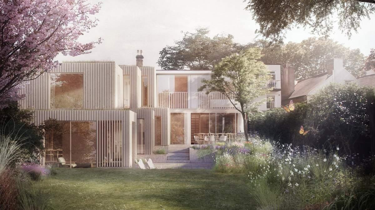 На основе предварительного плана – проект расширения дома британского архитектора Сегала: фото