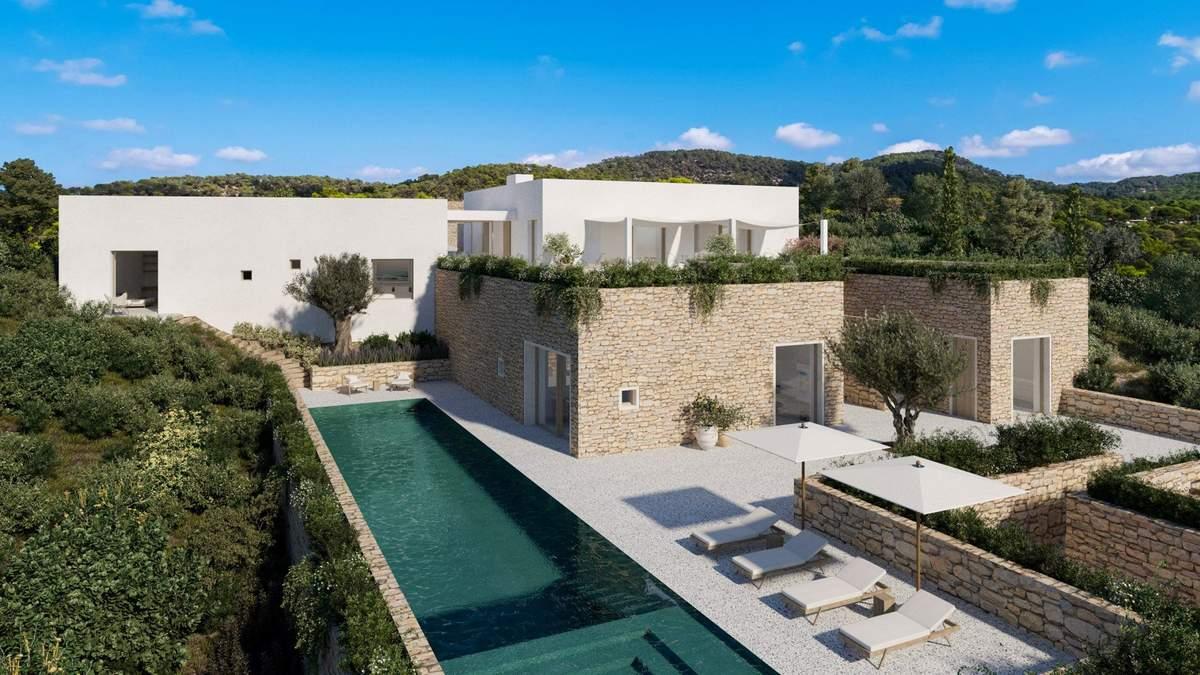 Розкішні будинки: 18 архітекторів представили проєкти приватних вілл на Ібіці – фото