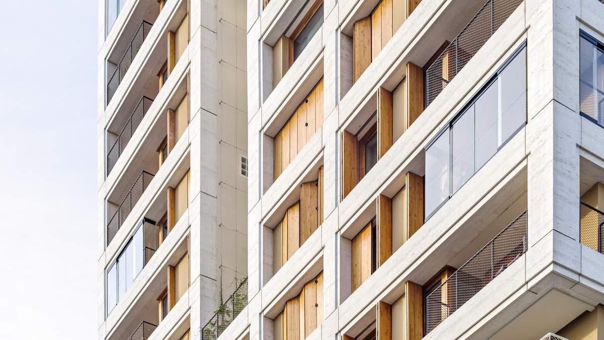 Легкі та безпечні для екології – у передмісті Парижа презентували житлові вежі: фото