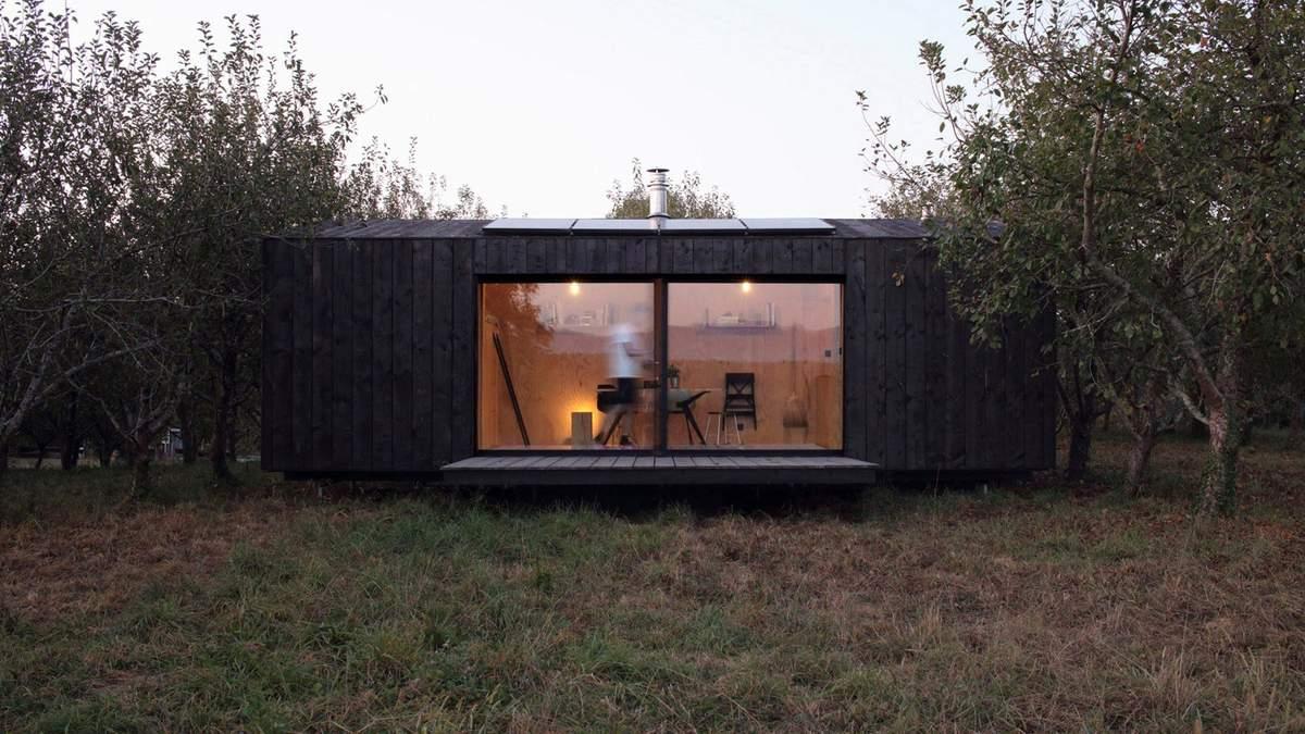 Мне с собой: во Франции разработали переносной домик на 22 квадратных метра – фото