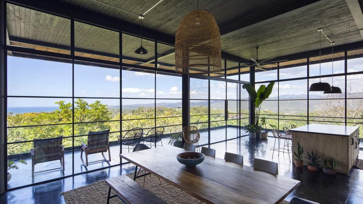 Океан лікує: приголомшливий дизайн котеджу у Коста-Риці – фото та ідея